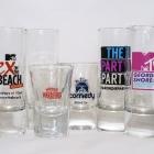 branded shot glasses