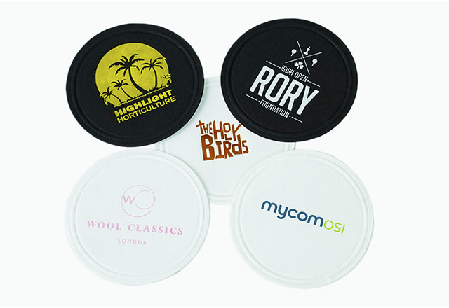 Waxed Back Coasters